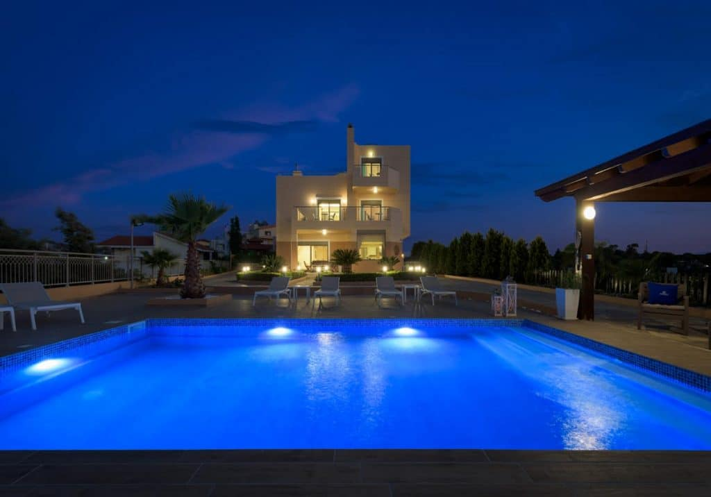 the top villas in rhodes
