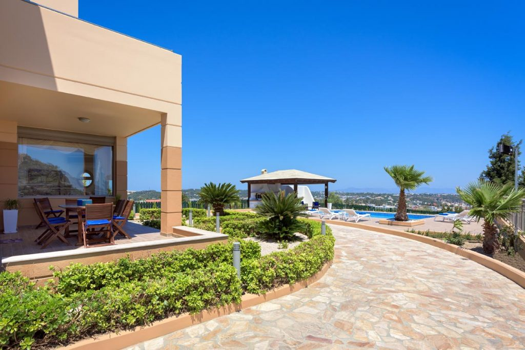 the top luxurious villa in rhodes