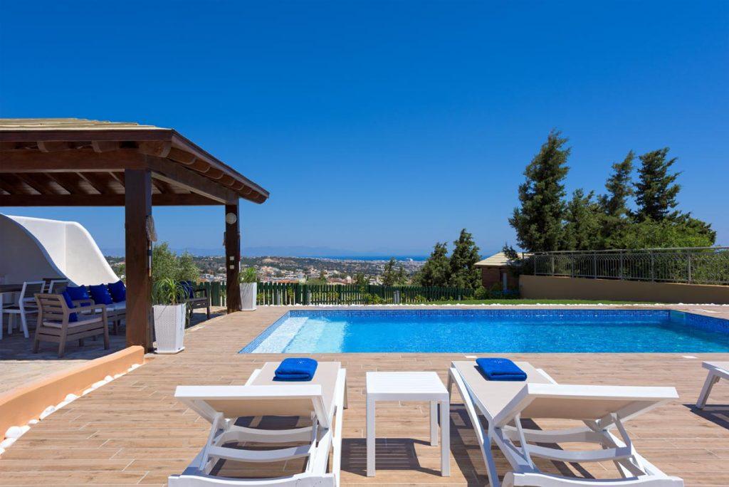 the top 5 villas rhodes