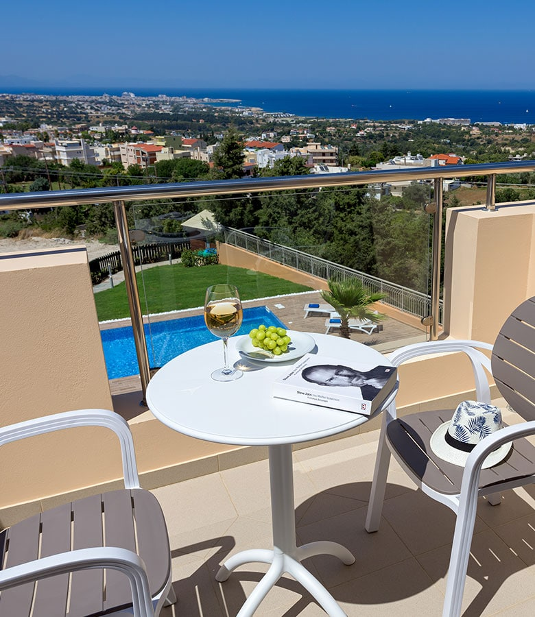 villa for couples in rhodes